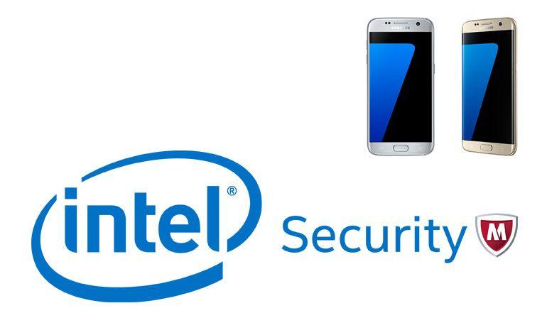Intel Security protege os novos Samsung Galaxy S7 e Galaxy S7 Edge