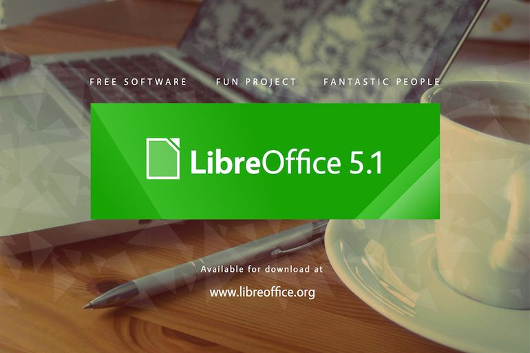 The Document Foundation anuncia o LibreOffice 5.1