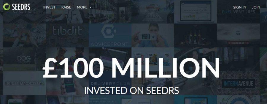 Seedrs atinge 100 milhões de libras em investimentos