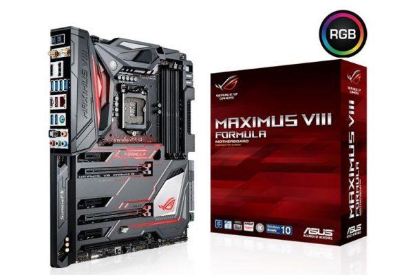 ASUS ROG apresenta motherboard para gaming Maximus VIII Formula