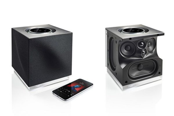 Naim Mu-so Qb, um sistema de música com conectividade sem fios e ligação multi-sala
