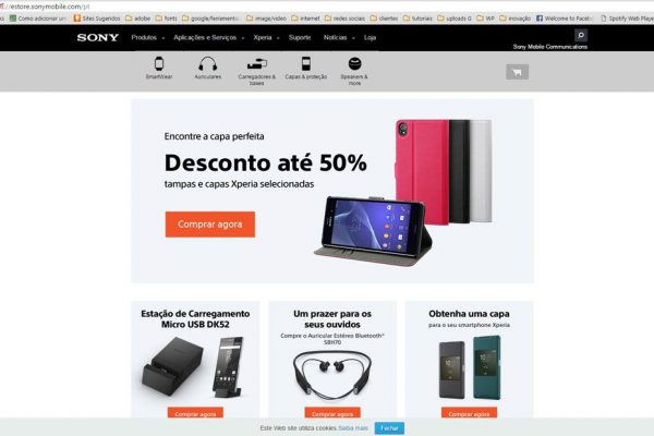 Sony Mobile lança loja online em Portugal