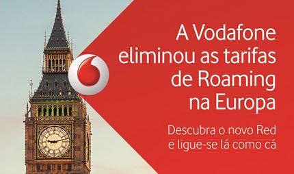 Vodafone deixa de cobrar tarfifas de roaming na Europa