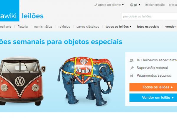 Maior plataforma de leilões online da Europa chega a Portugal