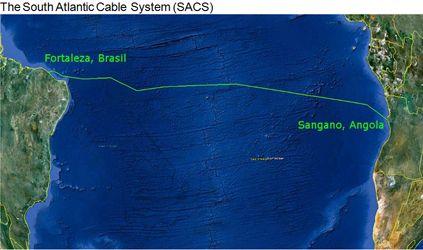 NEC inicia a construção do Sistema de Cabos do Atlântico Sul da Angola Cables