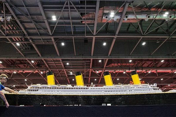 MEO Fan Event Titanic LEGO