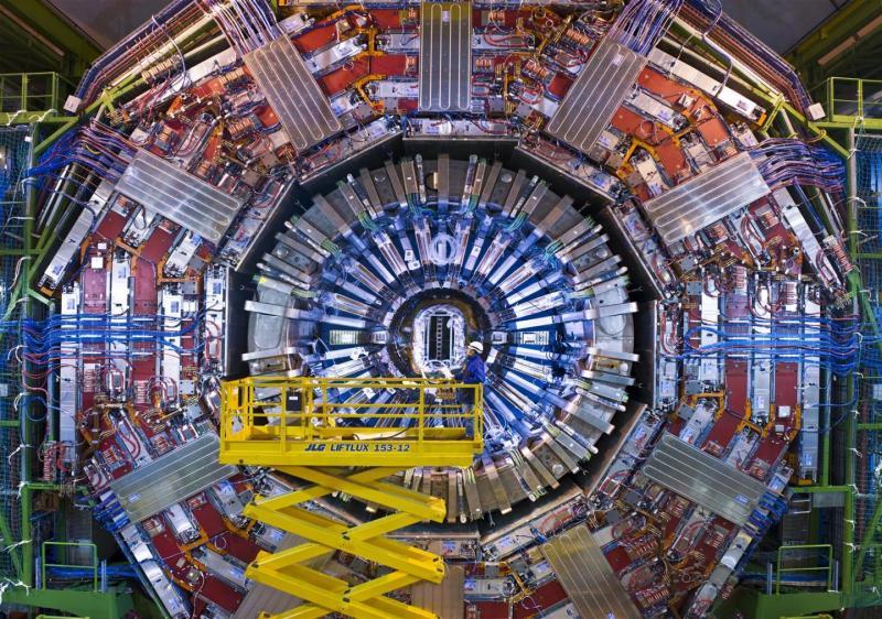 colidor de partículas CERN