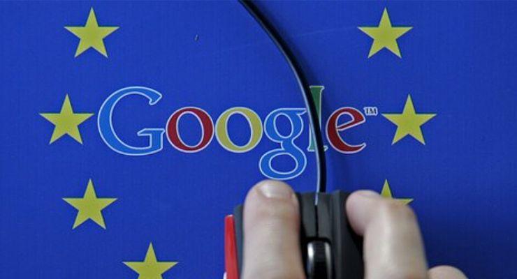 Google Comissão Europeia