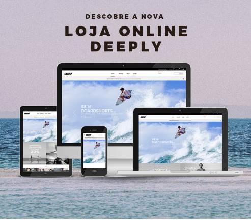 Deeply entra no comércio online com novo site e loja online