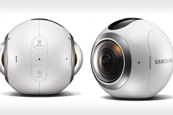 câmara samsung gear 360