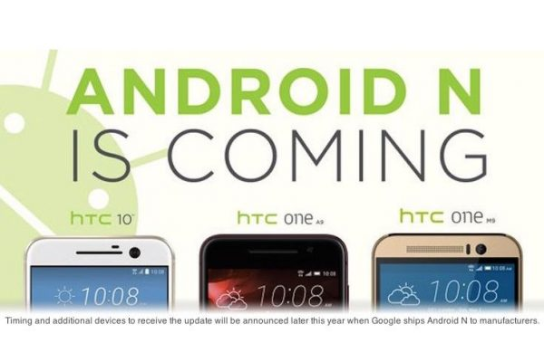 Android N HTC