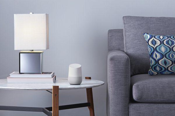 GH Livingroom assistente do Google