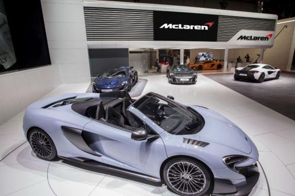 McLaren aposta nos híbridos