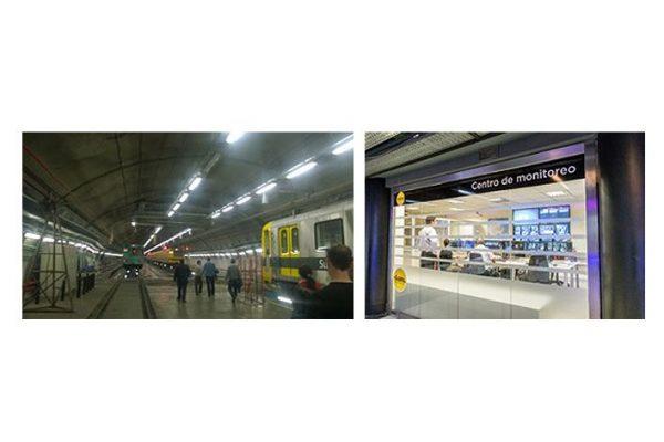 NEC fornece sistema de segurança completo ao metro de Buenos Aires