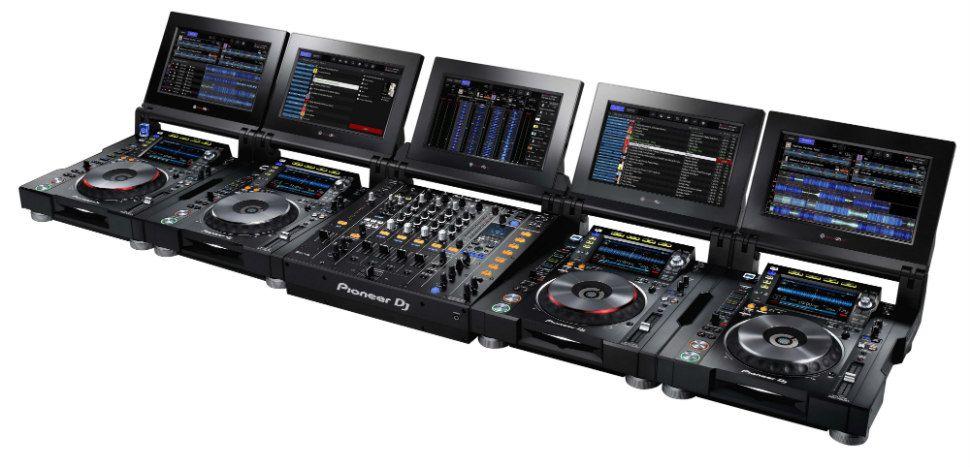 sistema de som para DJ