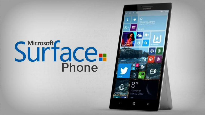 novos rumores sobre surface phone