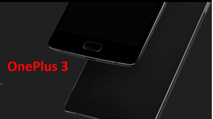 smartphone oneplus3