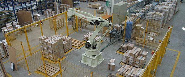 robótica triunfa na logística