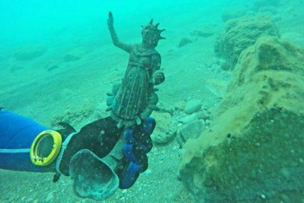 tesouro romano submerso israel