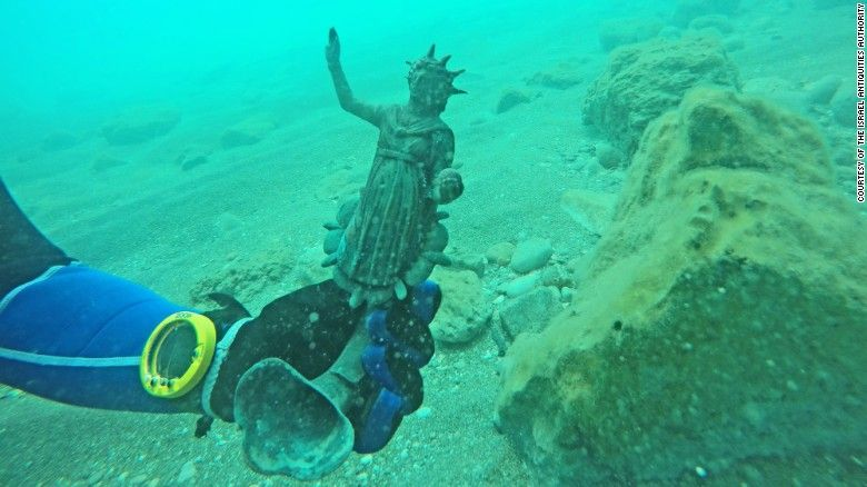 tesouro romano submerso