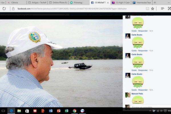 protesto online contra Temer e PMDB