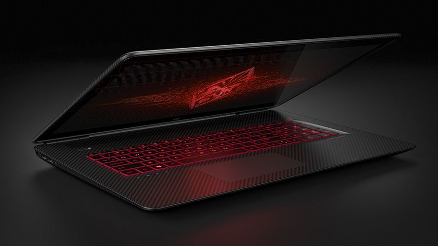 17.3 OMEN by HP  Right Facing Partially Open