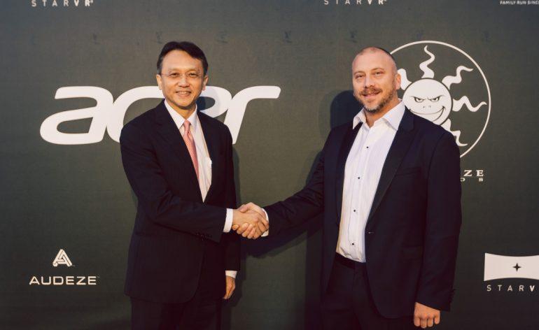 Conselhos de Administração da Acer e Starbreeze aprovam acordo para formar joint venture para StarVR