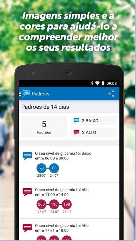 OneTouch Reveal app diabéticos
