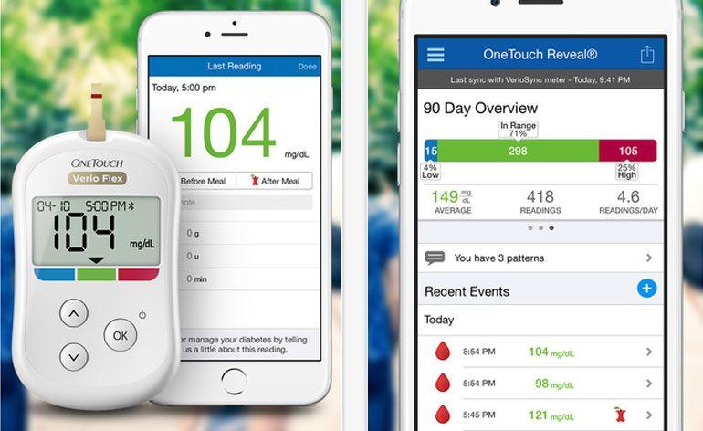 OneTouch Reveal uma app inovadora para diabéticos