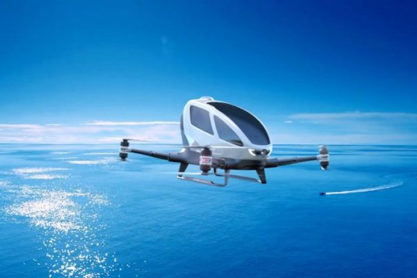 primeiro drone para passageiros