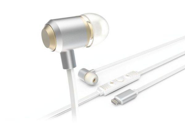 HD MUSIC: Auriculares com tomada Lightning para iDevices de nova geração