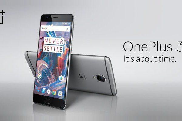 OnePlus 3 Actualização