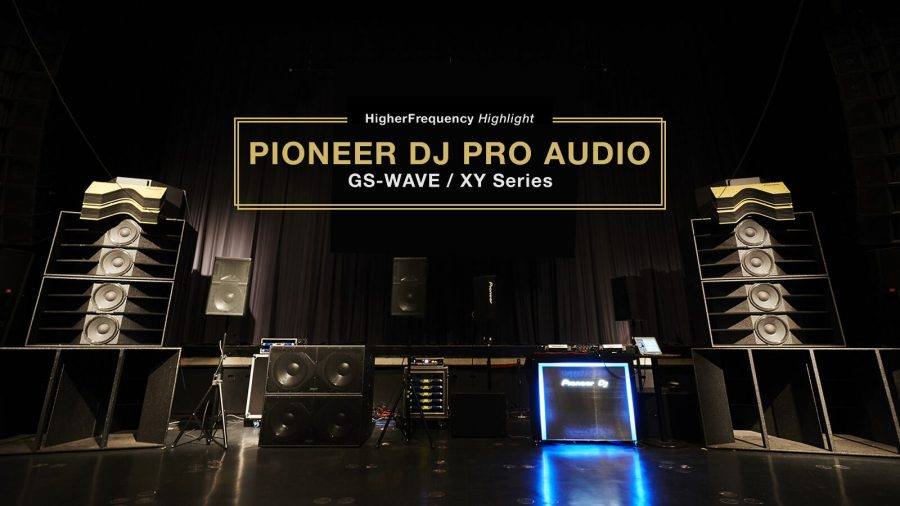 Pioneer DJ Pro Audio_GS-WAVE e XY Series