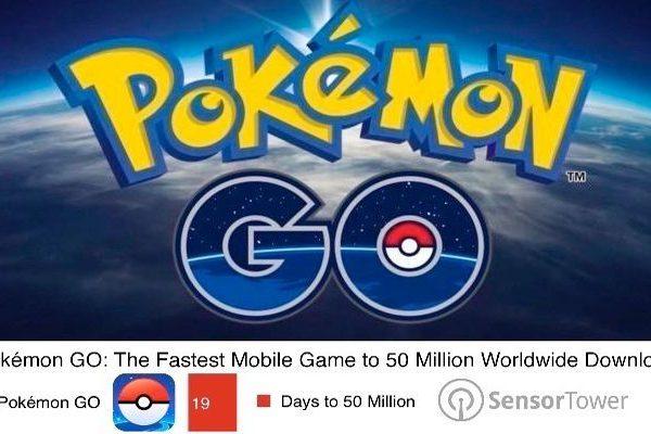 Pokémon GO 50 milhões