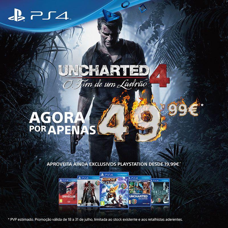 PlayStation anuncia grandes descontos até ao fim do mês de julho
