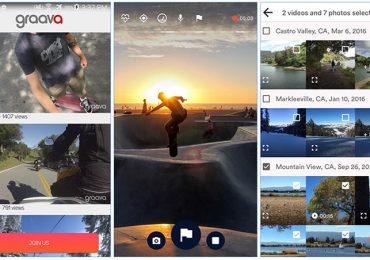 Graava: A app que edita vídeos em segundos e cria histórias prontas para serem partilhadas