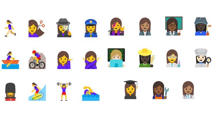 Google Emoji igualdade