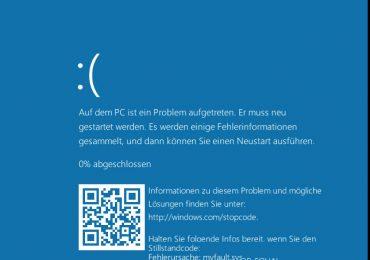 Nova tela azul do Windows pode ser usada pelos criminosos cibernéticos