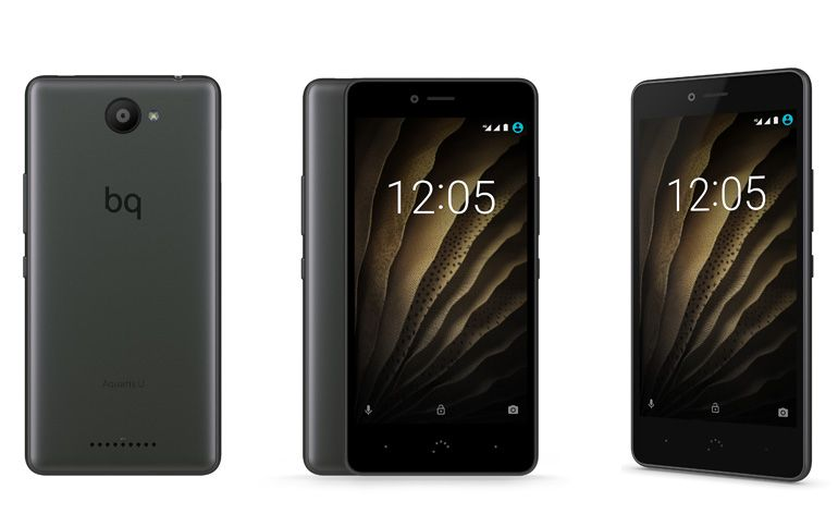 BQ apresenta a sua nova gama de smartphones, Aquaris U