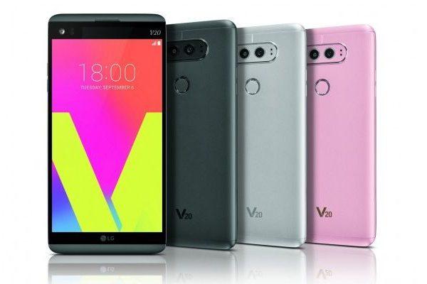 LG V20 Android Nougat