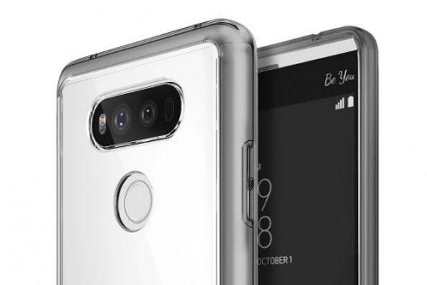 LG V20 dual câmara
