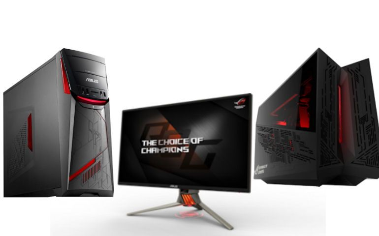 imagem destaque AiO V221, Asus, Curve, Designo, DSL-AC87VG, gaming, IFA 2016, lifestyle, MB16AC, MX27UC, MX34VQ, ROG G20, ROG G701VI, ROG GT51, ROG Strix GL702VM, ROG Swift PG258Q, ROG XG Station 2, vivo, ZenScreen