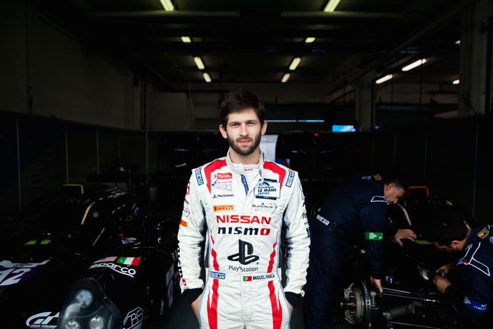 Miguel Faísca competiu em casa, na European Le Mans Series