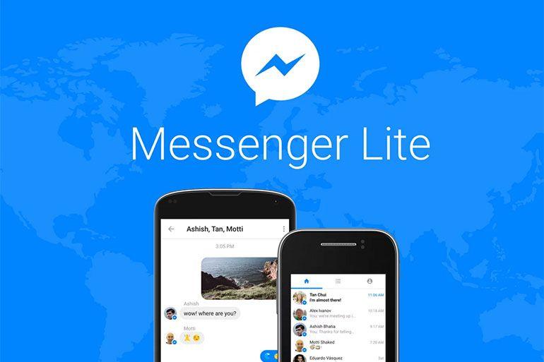 Facebook anuncia o lançamento do Messenger Lite para Android
