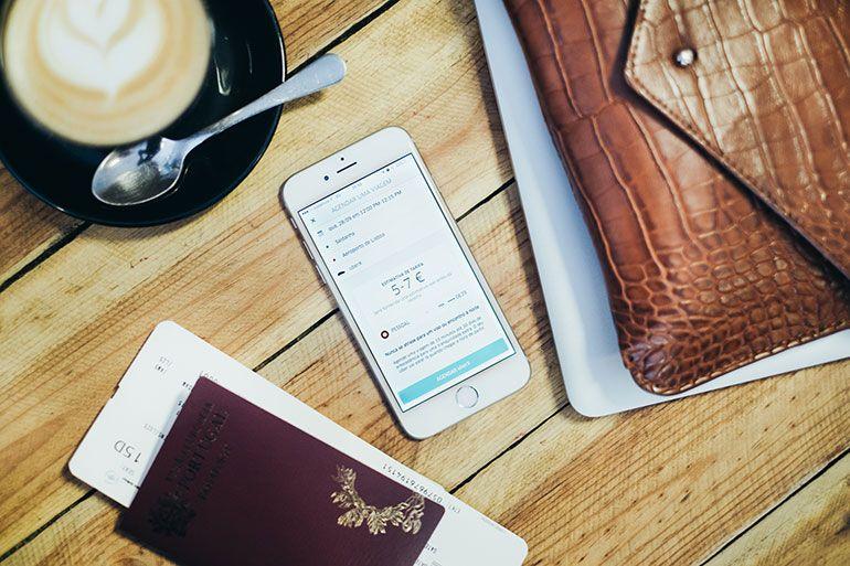 Uber agendar viagens Porto e Lisboa
