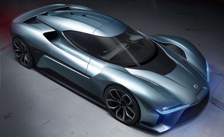 Conheça o NIO EP9, o carro elétrico mais rápido do mundo