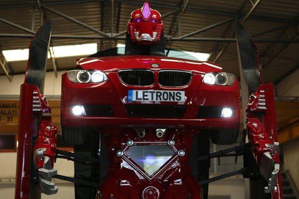 Antimon é o novo carro capaz de se transformar em robô