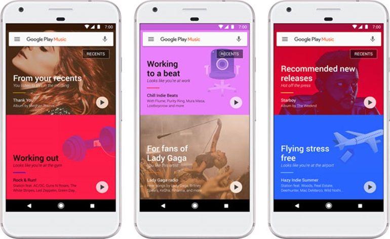 Google libera atualização para o Gogle Play Music