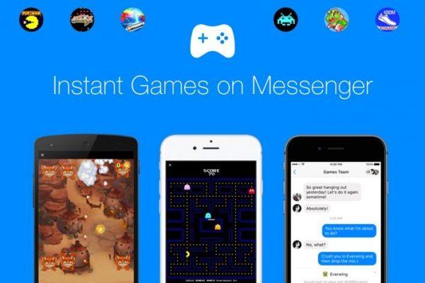 Facebook Messenger ganha suporte a games