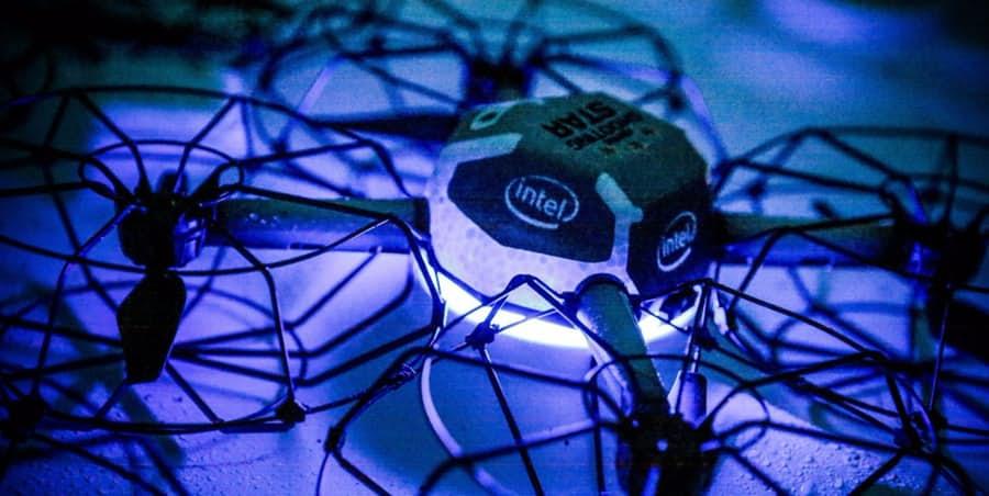 intel shooting star 3 drone, entretenimento, Guinness, intel, Intel Shooting Star, Recorde Mundial, Shooting Star